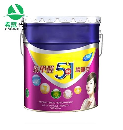 5合1乳胶漆